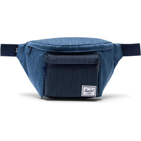 Herschel Seventeen Hip Pack, faded denim/indigo denim